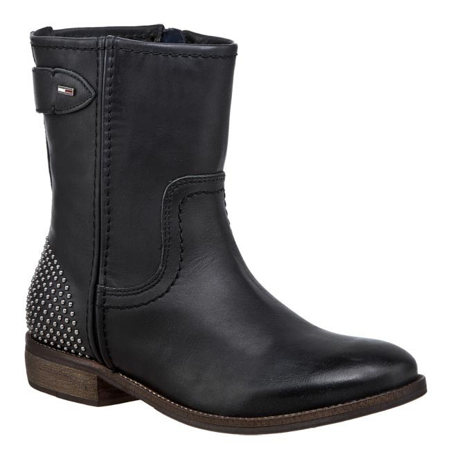 edd85e76a1780 Boots TOMMY HILFIGER - Eline 4A EN56816090 Black 990 - Boots - High ...