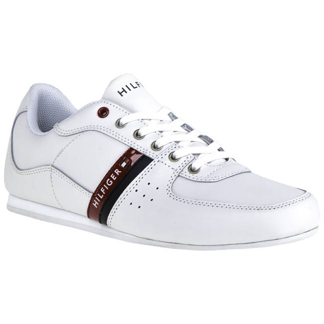 237f00a7b305d Sneakers TOMMY HILFIGER - Ross 2A FM56816209 White Midnight Red 100 ...