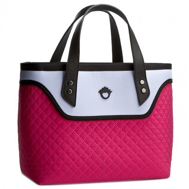 be856c6cc5c0c Handbag GOSHICO - Flowerbag 3034 Różowo Niebieski - Canvas Totes ...