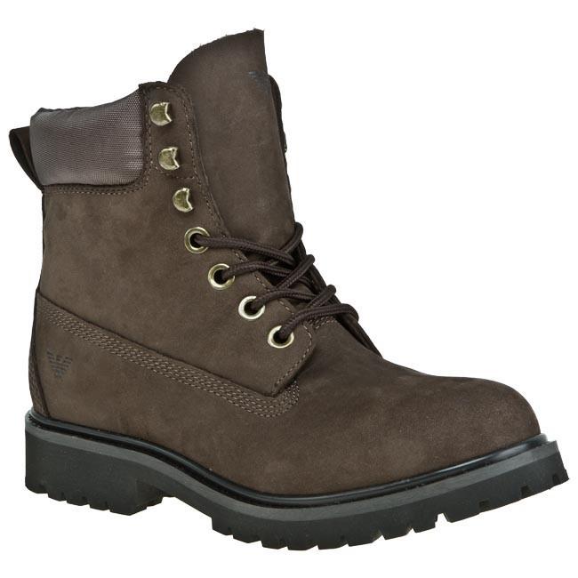3f43afbbeec3a Hiking Boots ARMANI JEANS - U6580 16 T7 Liquorice - Casual - High ...