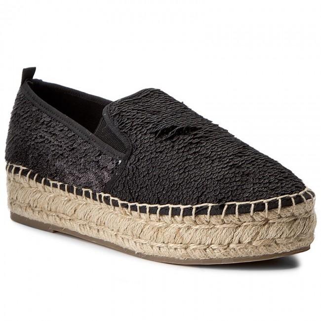Espadrilles STEVE MADDEN  Poppi Espadrille 910002700S00700401003 Black Multi  Espadrilles  Low shoes  Womens shoes       0000199837555