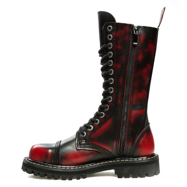 Combat Boots KMM - 140/ZAM Red Black - Combat boots - High boots