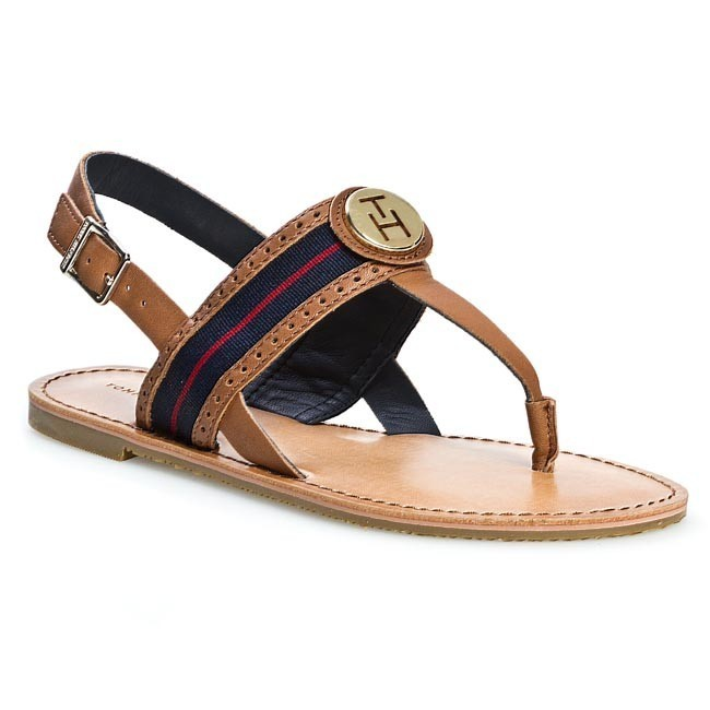 Sandals TOMMY HILFIGER - Julia 27A FW56816799 Summer Cognac 929