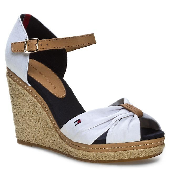 15aeef9aa60d5 Espadrilles TOMMY HILFIGER - Emery 54D FW56816770 White 100 - Casual ...