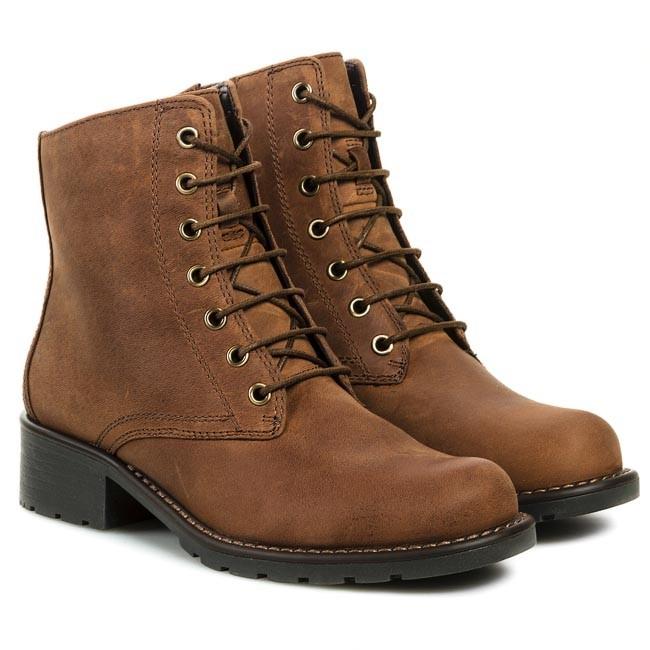 Boots CLARKS - Orinoco Hop 203473814 Brown Snuff