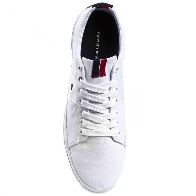 237f95059e04cb Plimsolls TOMMY HILFIGER - Harry 5D FM56816972 White 100 - Plimsolls - Low  shoes - Men s shoes - www.efootwear.eu