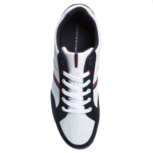 04f9532752172 Sneakers TOMMY HILFIGER - FM56816982 White Midnight 403 - Sneakers - Low  shoes - Men s shoes - www.efootwear.eu