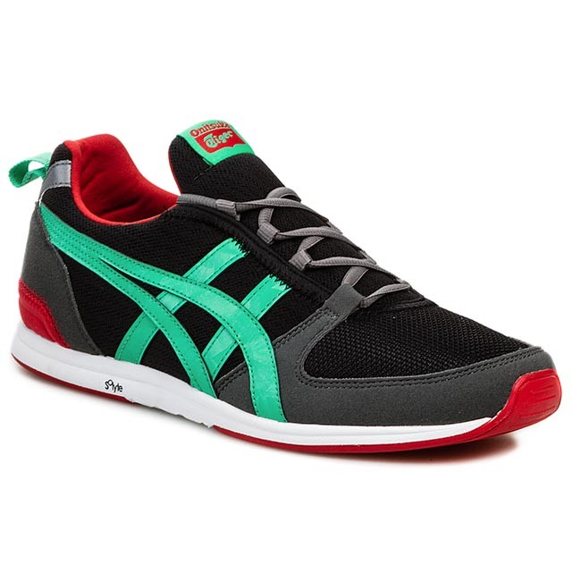 Shoes ASICS - ONITSUKA TIGER BY ASICS - Ult-Racer D3R1N Black/Mint Leaf