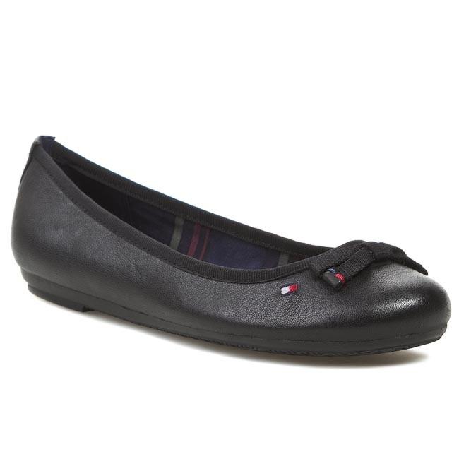1e808d7248f2f Flats TOMMY HILFIGER - Camilla 30A FW56817748 Black 990 - Ballerina ...