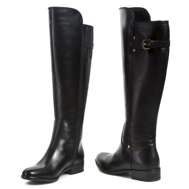 Knee High Boots CLARKS - Licorice Rock