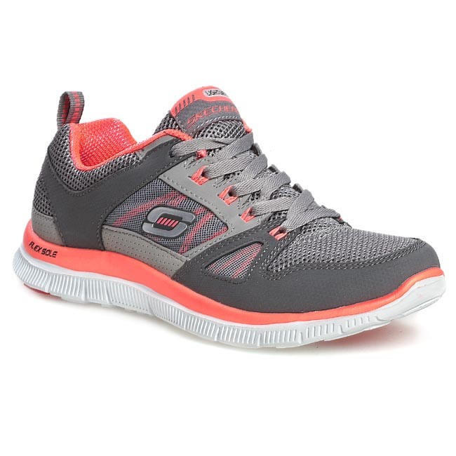 Shoes SKECHERS - Spring Fever 11727/CCHP Charcoal/Hot Pink