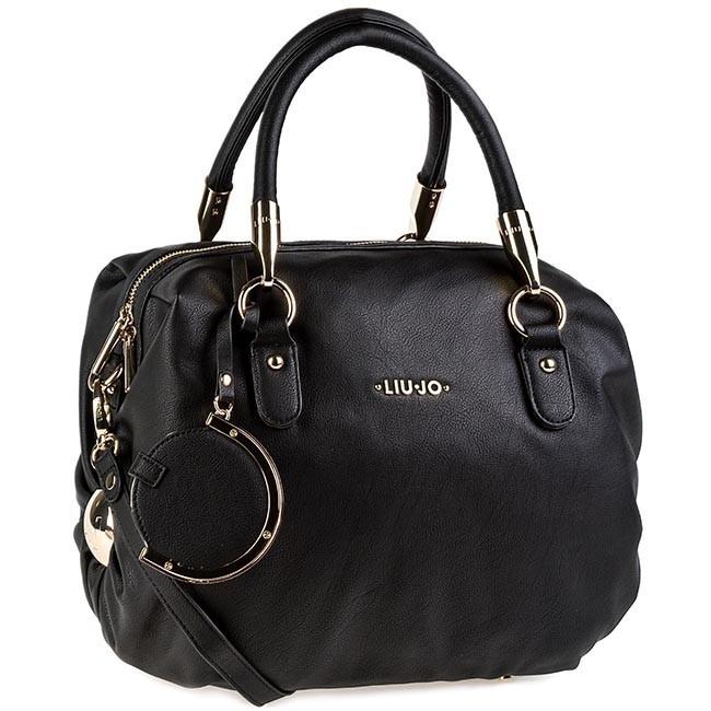 96b4f7df9d0 Handbag LIU JO - Bauletto L Claire A14189 E0038 Nero 22222 - Classic ...