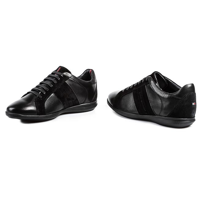 797b389c9 Sneakers TOMMY HILFIGER - Oliver 12C FM56817911 Black 990 - Sneakers ...