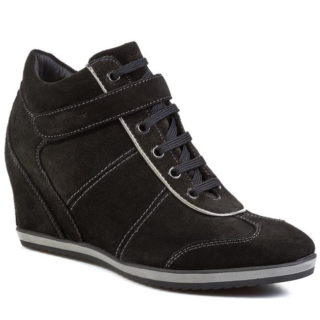 8a2c1cc948 Sneakers GEOX - D Ilusion D D3454D 00023 C9999 Black - Sneakers ...