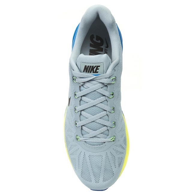 6ce7f7c6884c ... spain shoes nike lunarglide 6 654433 005 light magnet grey black photo blue  volt indoor running