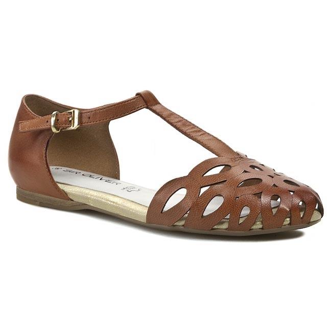 Sandals S.OLIVER - 5-28217-32 Cognac 305