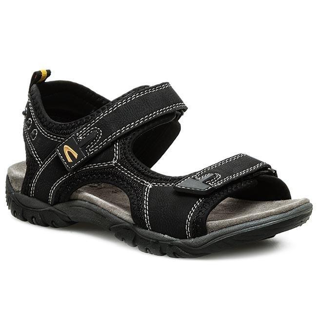 camel active Sandals - black enXv1wJ7