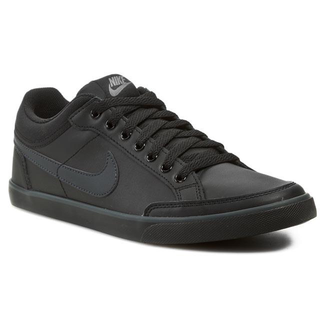Escarpado Eléctrico Innecesario  Shoes NIKE - Capri III Low Leather 579622 090 Black/Anthracite - Sneakers -  Low shoes - Men's shoes | efootwear.eu