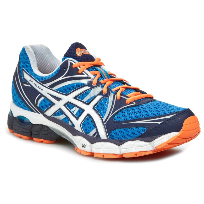 Shoes ASICS - Gel-Pulse 6 T4A3N Blue White Flash Orange 4201 ... 7cef4f7816