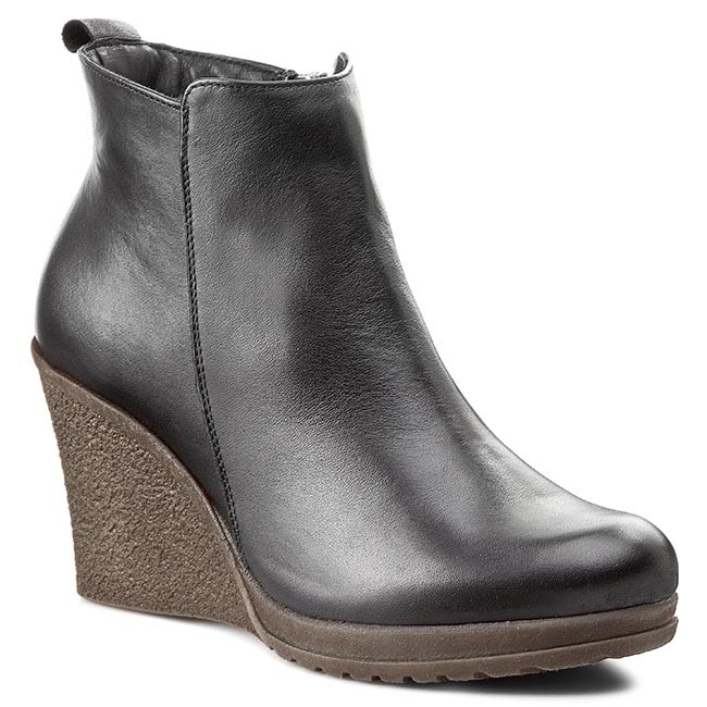 3fbd7cd42d33d Boots LAN-KARS - B97-1 Black - Boots - High boots and others ...