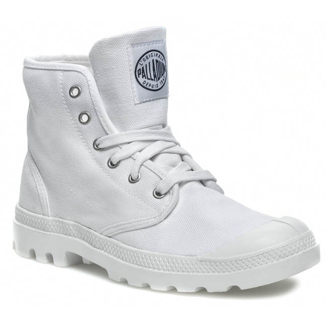 Hiking Boots PALLADIUM - Pampa Hi 02352109 White/Navy