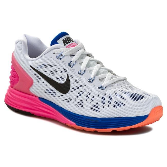 competitive price 85200 b85e9 Shoes NIKE. Lunarglide 6 654434 101 White  Black  ...