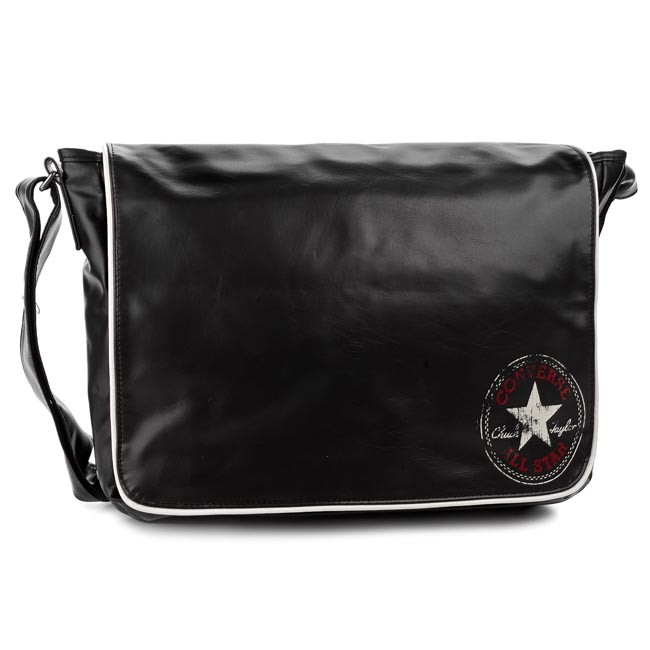 353fa07766 Bag CONVERSE - Flap Messenger Vintage 410507 Czarny 002 - Men s ...
