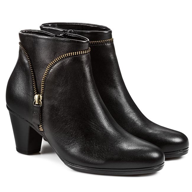 1b7dab9de7d34 Boots GABOR - 95.614.47 Schwarz - Boots - High boots and others - Women s  shoes - www.efootwear.eu