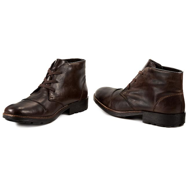 82d35f01004242 Boots RIEKER - 36000-25 Brown - Boots - High boots and others ...