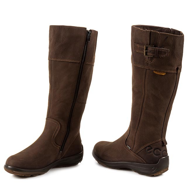 Knee High Boots ECCO Voyage 20453301072 Coffee