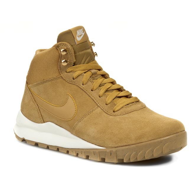 Shoes NIKE - Hoodland Suede 654888 727 Haystock/ Light Brown/ Metallic Gold