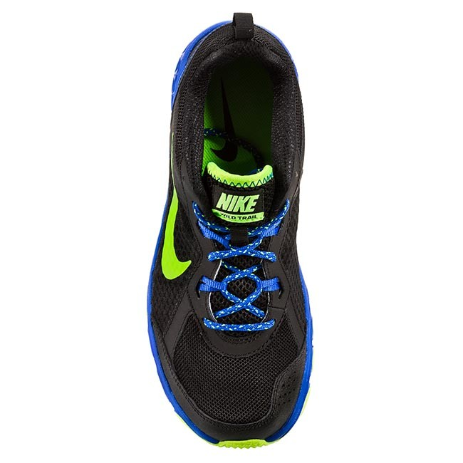 Shoes NIKE - Wild Trail 642833 007 Black/Electric Green/Hyper Cobalt