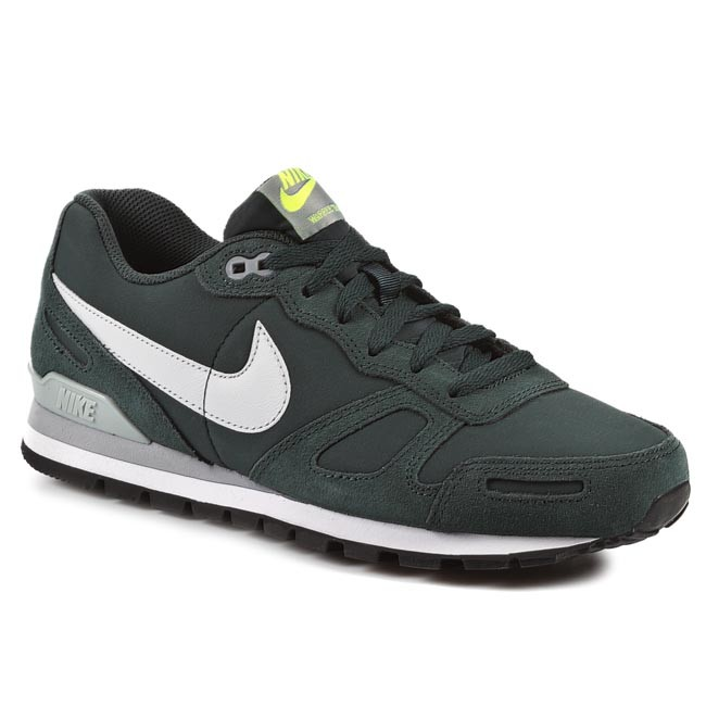 Shoes NIKE - Air Waffle Trainer Leather 454395 300 Seaweed/ Pure Platinum/  Silver/