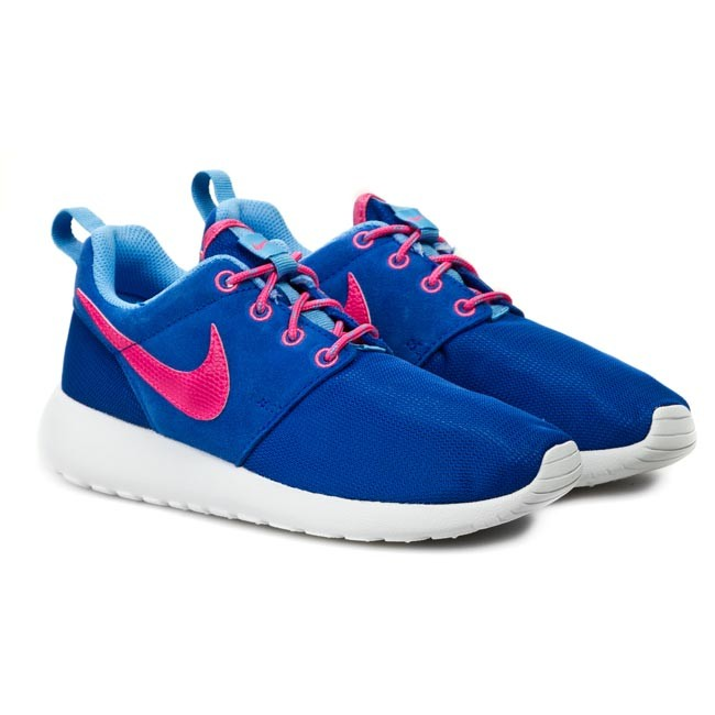 2822aaae5edc Shoes NIKE - Rosherun 599729 403 Hyper Cobalt  Hyper Pink  University Blue  - Sneakers - Low shoes - Women s shoes - www.efootwear.eu