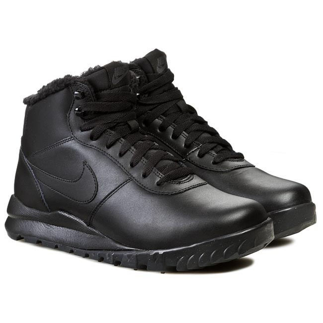 Boots NIKE - Nike Hoodland Leather 654887 090 Black/ Anthracite
