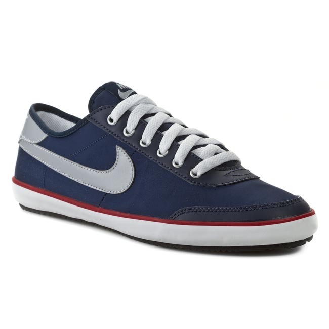 Shoes NIKE  Sweeper Textile 599439 460 Mid Navy Wolf Grey Gym Red