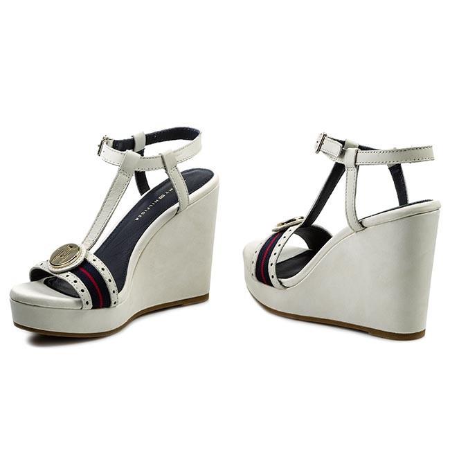 Sandals TOMMY HILFIGER - Emery 55A FW56816771 Whisper White 121 ... 42f45b88534