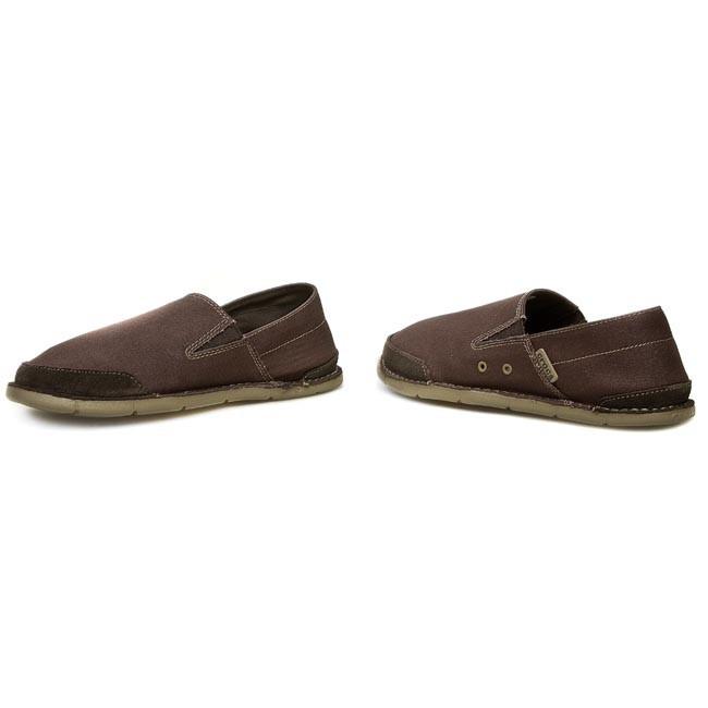 Shoes CROCS - Cabo Loafer Santa Cruz M 14989 Espresso Khaki - Casual ... d61fa41119