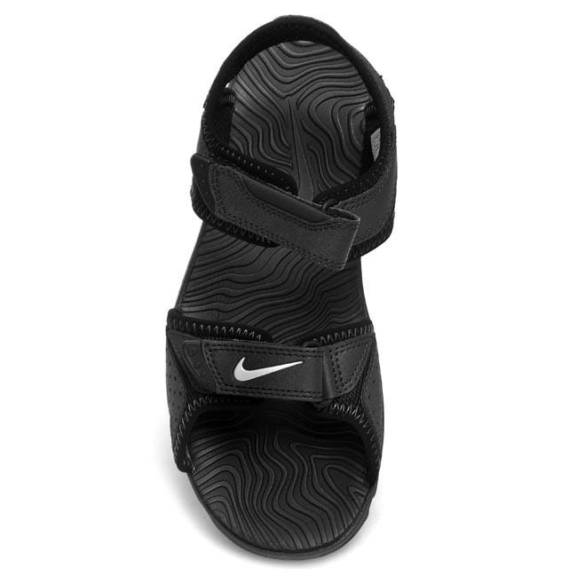 bd40e04483ad Sandals NIKE - Santiam 5 344631 011 Black White Anthracite - Sandals -  Clogs and sandals - Boy - Kids  shoes - www.efootwear.eu