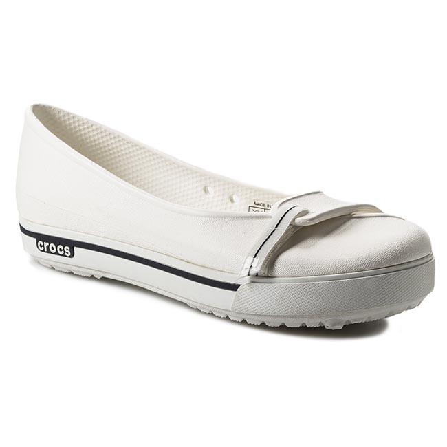 2e41cf120f39ef Shoes CROCS - Crocband 2.5 Flat 12333 White Navy - Flats - Low shoes ...