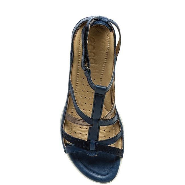 Sandals ECCO Flash 24070358573 Denim BlueWarm Grey