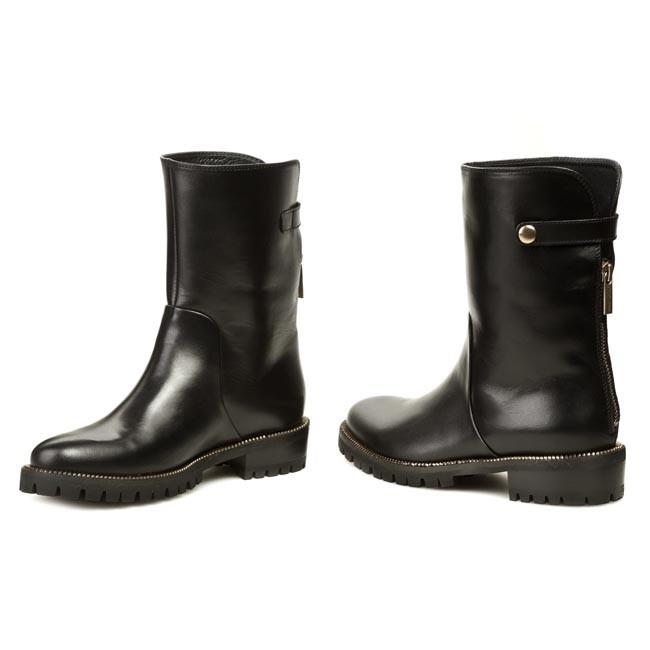 4f102f47f3dd6 Boots GINO ROSSI - Riccia DBG202-G46-3V00-9900-F Czarny 99 - Boots ...