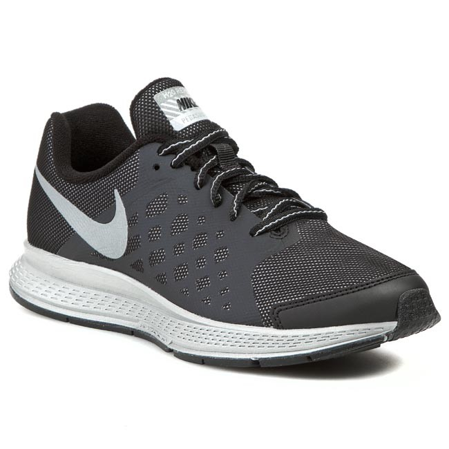 Womens Shoes Nike Zoom Pegasus 31 Flash Black/Reflective Silver