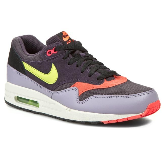 detailed pictures 85dac 1f2ea Shoes NIKE - Air Max 1 Essential 537383 500 Cave Purple/Frc Green ...