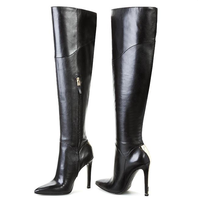 3c860b3e6ed Over-Knee Boots GUESS - BY MARCIANO Jordana FL4JDN LEA11 Black ...