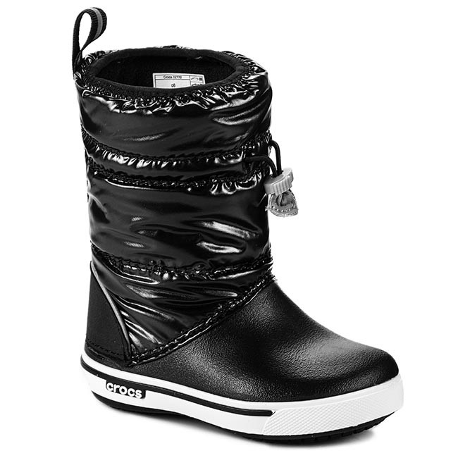 1022604a1 Snow Boots CROCS - Crocband Iri Gust Boot Kids 12772 Black White ...