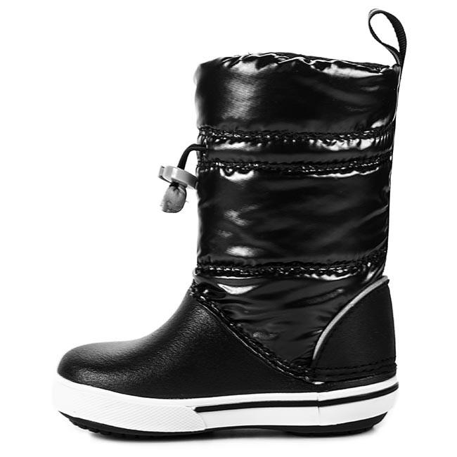 15f5b6613 Snow Boots CROCS - Crocband Iri Gust Boot Kids 12772 Black White -  Jackboots - High boots and others - Girl - Kids  shoes - www.efootwear.eu