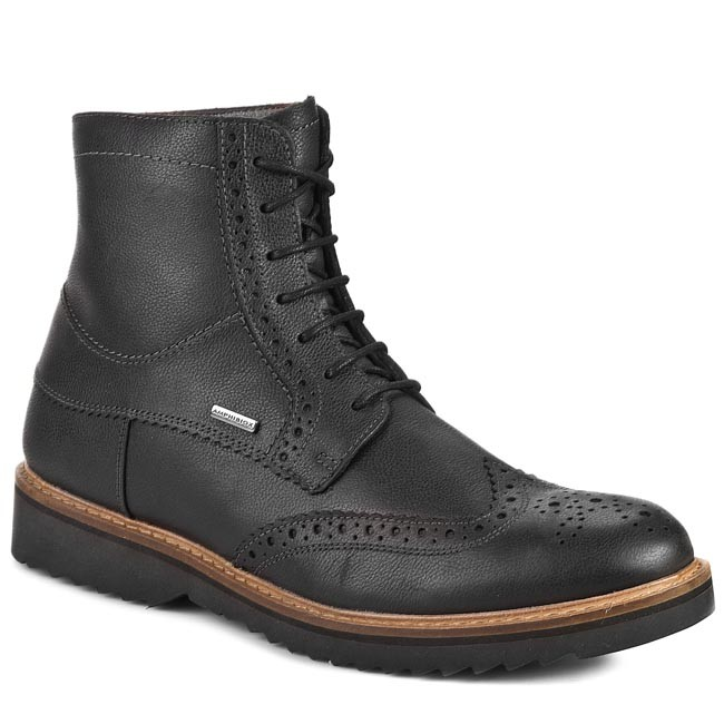 8abe9d85fd7a Boots GEOX - U Chester Abx U34T5B 00046 C9999 Black - Boots - High ...