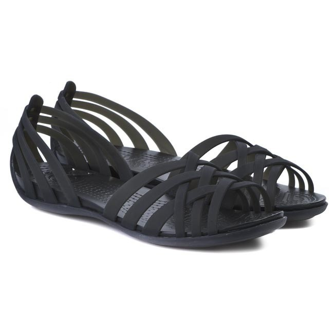 Sandals CROCS , Huarache Flat Women 14121 Black