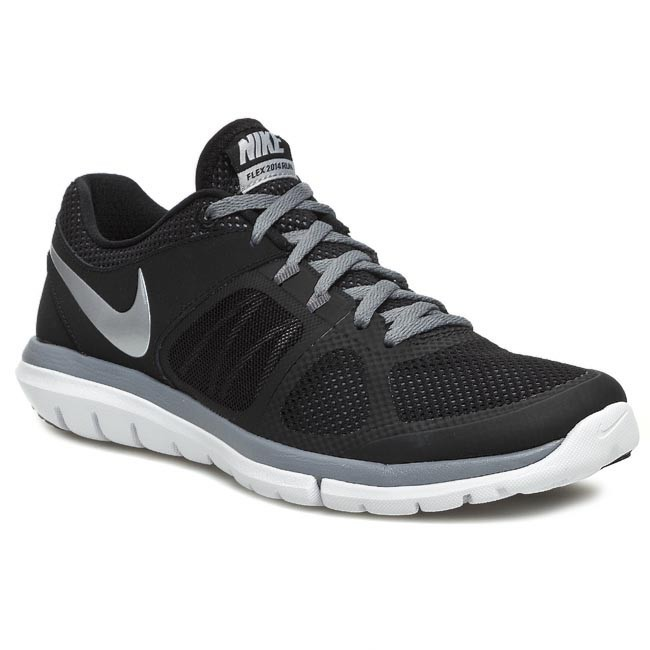 3651e5b7e70e Shoes NIKE - Flex 2014 RN 642791 001 Black Metallic Silver Cool Grey ...
